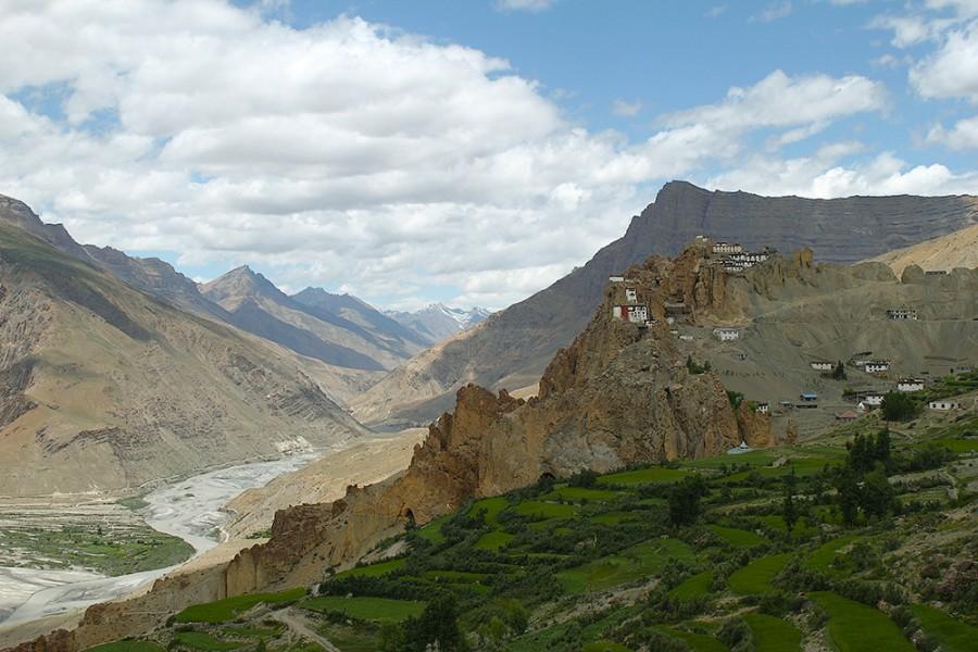 Монастырь Данкар, долина Спити, Малый Тибет